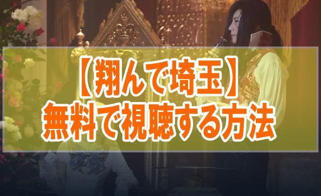 映画【翔んで埼玉】を無料でフル動画視聴する方法はU-NEXT一択!